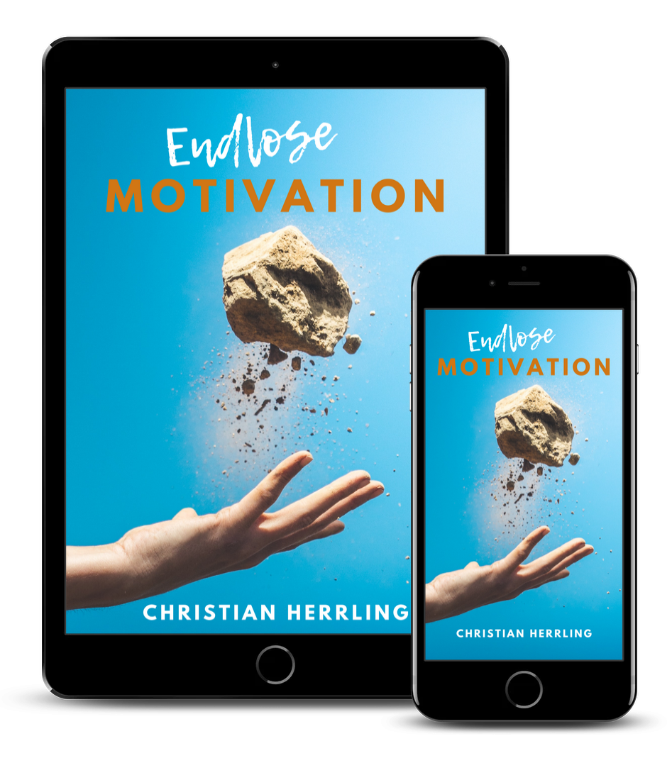 Endlose Motivation Mockup
